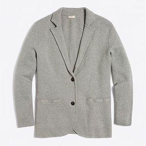 J crew factory sweater blazer